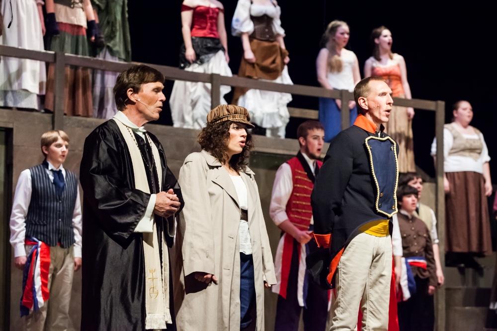 Les Miserables performers