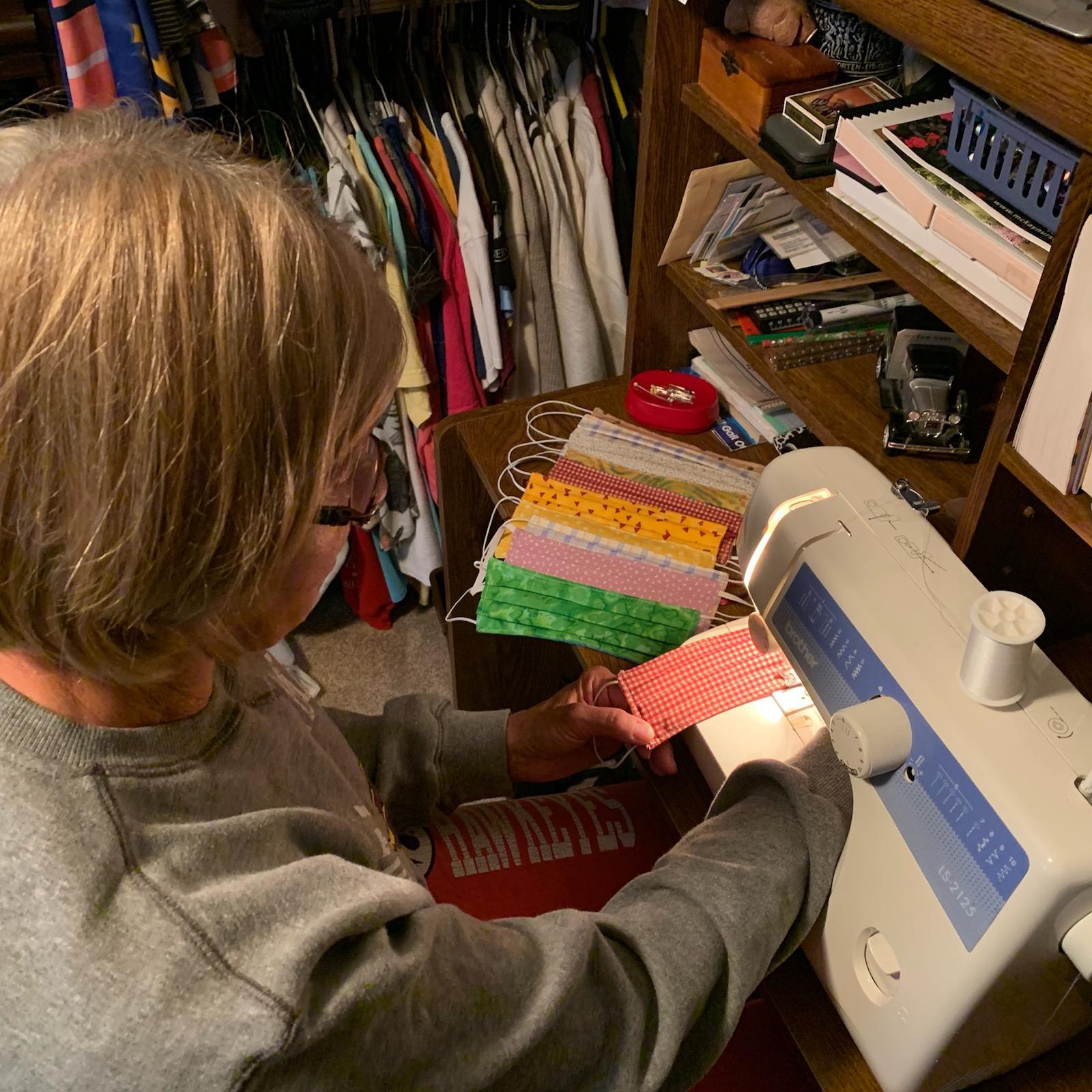 Volunteer Sewing Masks
