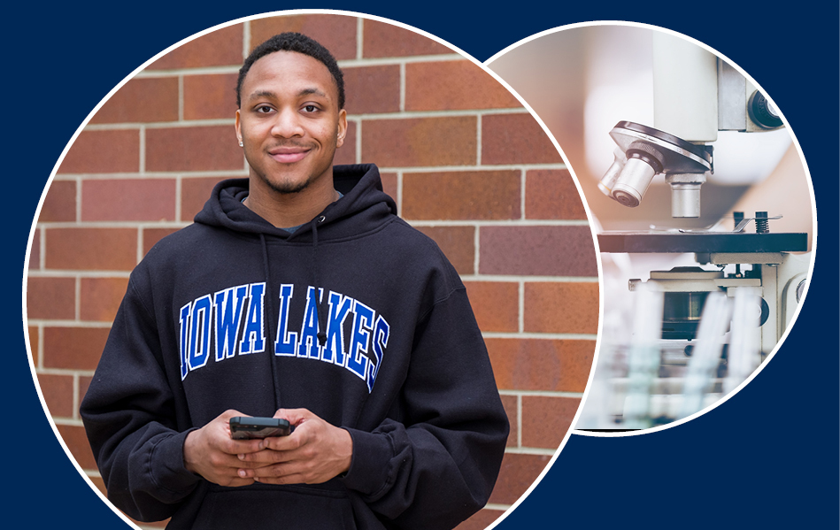 Associate in Science degree at Iowa Lakes Community College