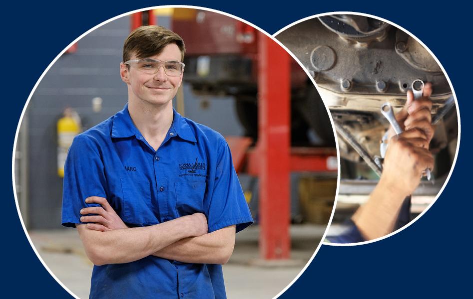 Automotive Technology Degree at Iowa Lakes Community College