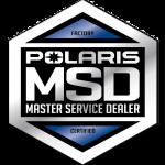 Polaris Master Service Dealer Logo