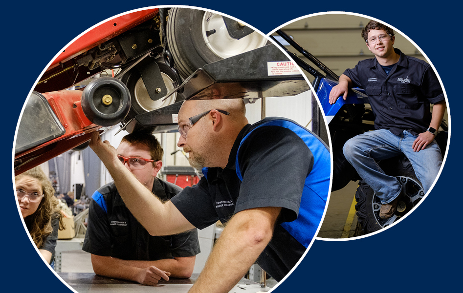 Powersports & Power Equipment Technology degrees at Iowa Lakes Community College