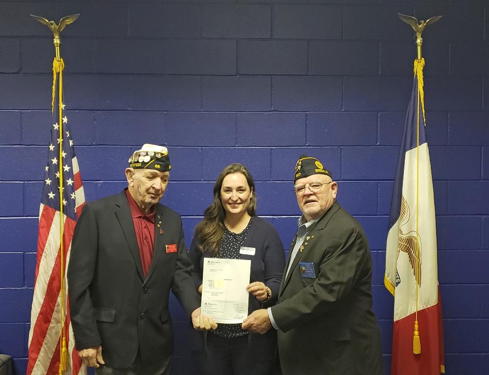 Legion Scholarship Winners