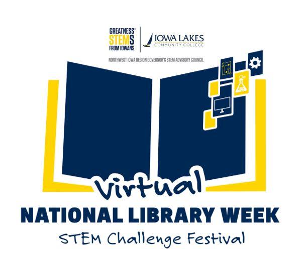 National Library Week Header