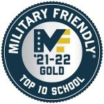 """Iowa Lakes Community College receives prestigious """"Top 10 Gold"""" designation on the Military Friendly® program list for assisting military and veteran students and faculty."""