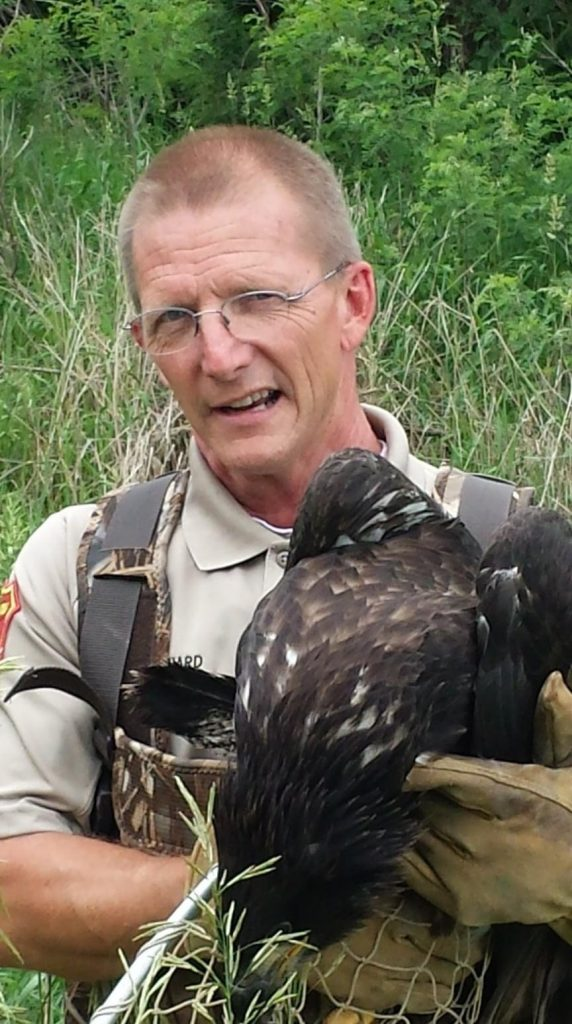 The Steve Reighard Memorial Scholarship honors Steve Reighard, a well-known conservation officer, by offering scholarships in his memory at Iowa Lakes Community College.