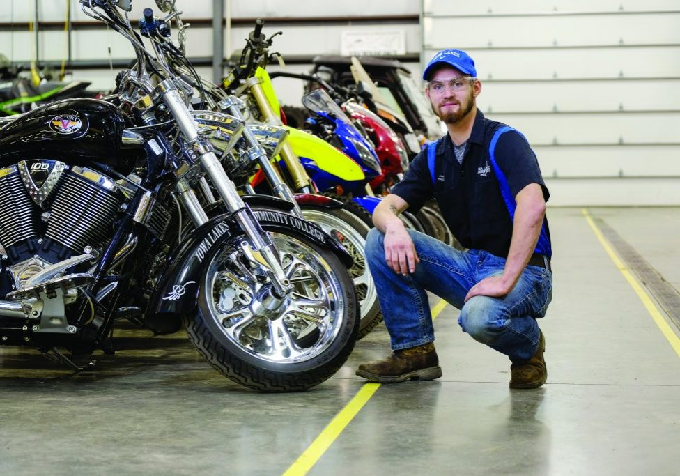Powersports & Power Equipment Technology Area of Study at Iowa Lakes