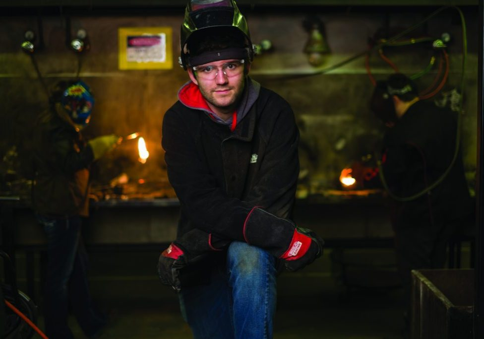 Welding Area of Study at Iowa Lakes